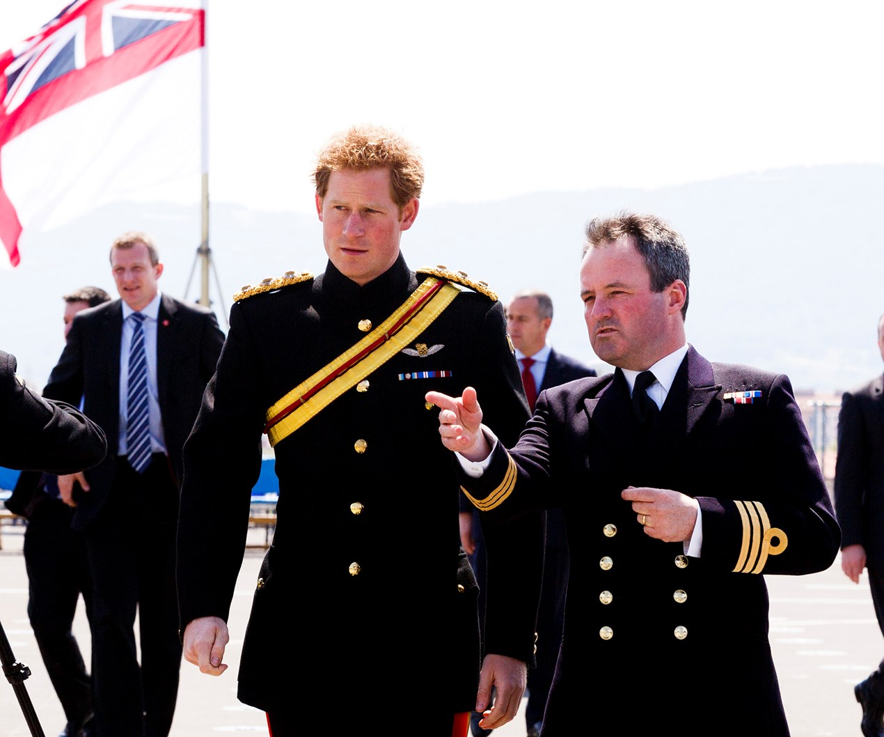 Around the world with Prince Harry