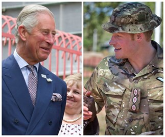 Prince Charles says Harry looking for 'budgie smugglers'