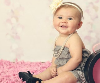 Stop the world: High heels for babies have arrived.
