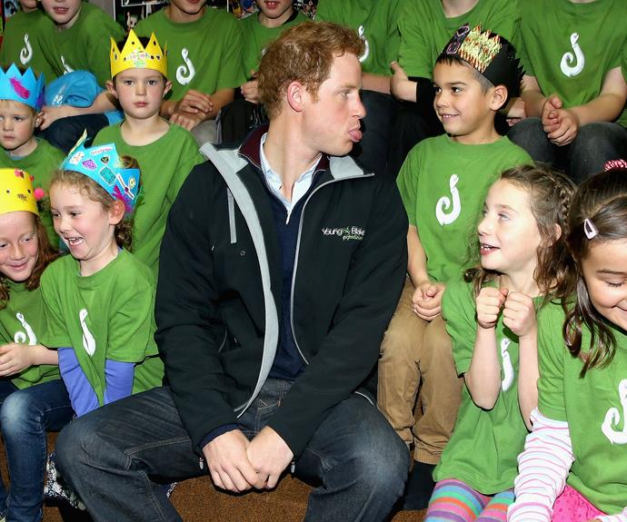 Prince Harry Gets Grilled By Schoolkids Australian Women