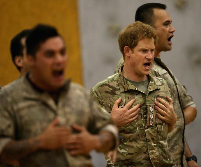 Prince Harry Does The Haka