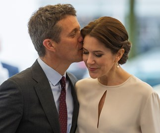 The look of love: Mary and Frederik on tour