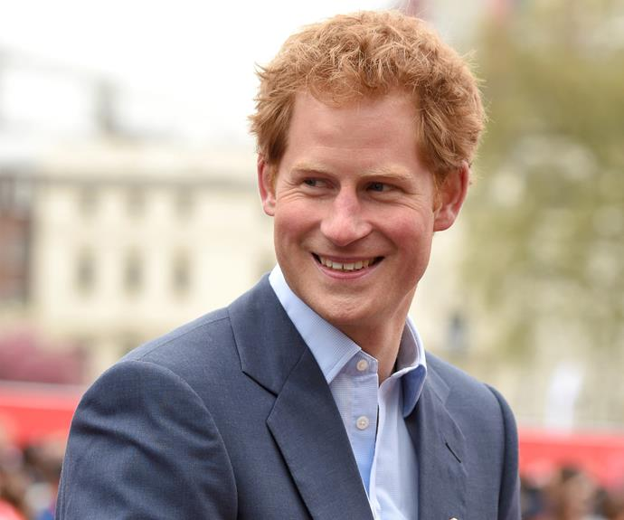 Prince Harry Finally Meets Princess Charlotte