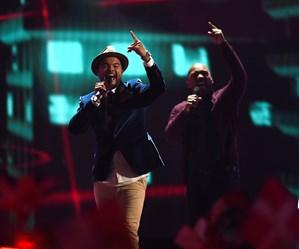 Guy Sebastian cracks top 5 at Eurovision