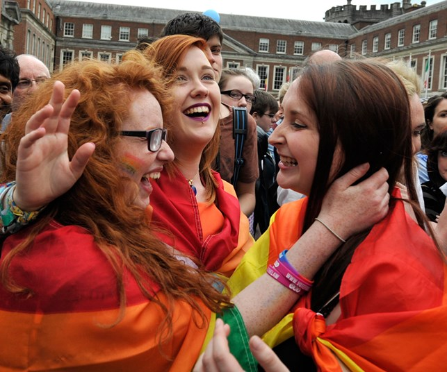 Same-sex marriage: Gay women join the debate