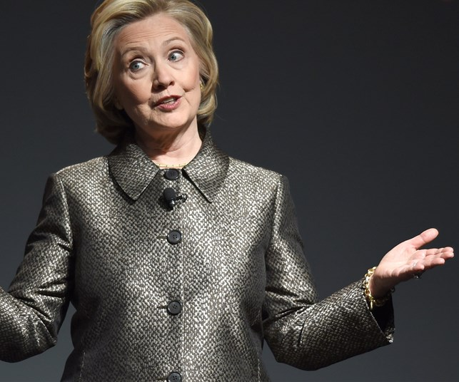 "Hillary Clinton: ""You won't see me go grey in the White House"""