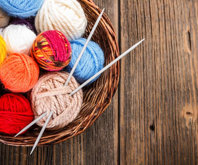 Knitting for beginners: Casting on, casting off and everything in between A...