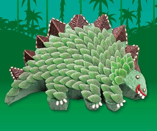 The death of spearmint leaves threatens kids cake favourite Stella the Stegosaurus