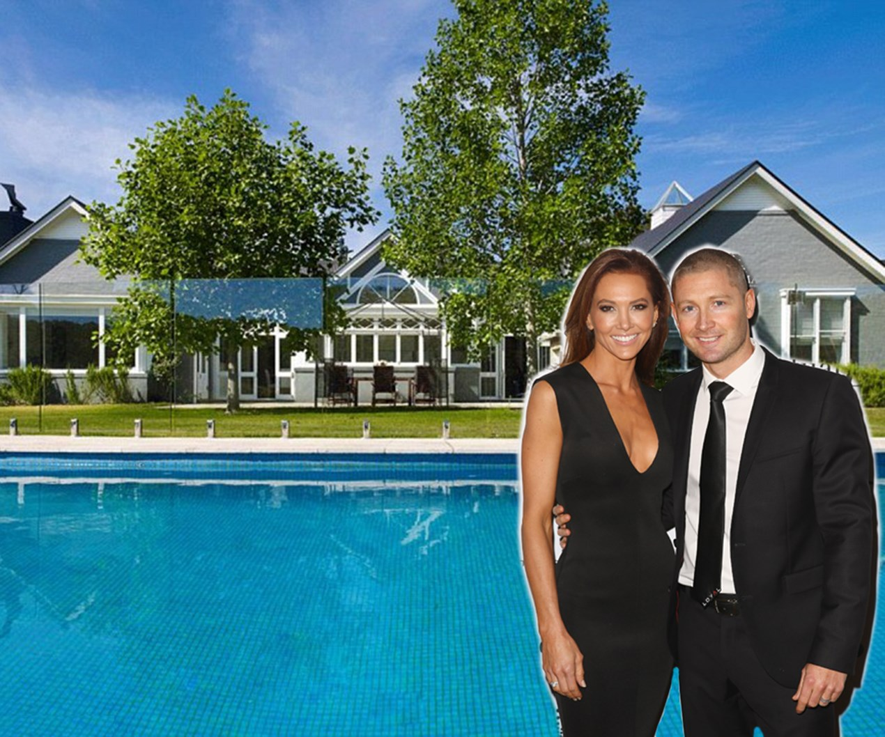 Michael and Kyle Clarke show off their $6.5m country home