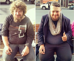 Melbourne barber giving haircuts to homeless