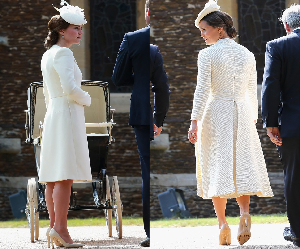 Etiquette expert slams Pippa Middleton for wearing similar outfit as Duchess to royal christening