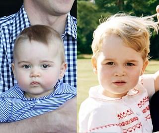 Hasn't he grown!