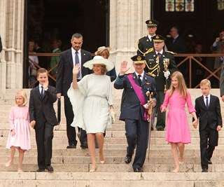 Queen Mathilde and King Philippe celebrate Belgium's National Day