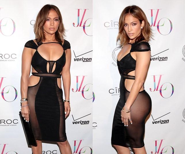 Jennifer Lopez sizzles at 46
