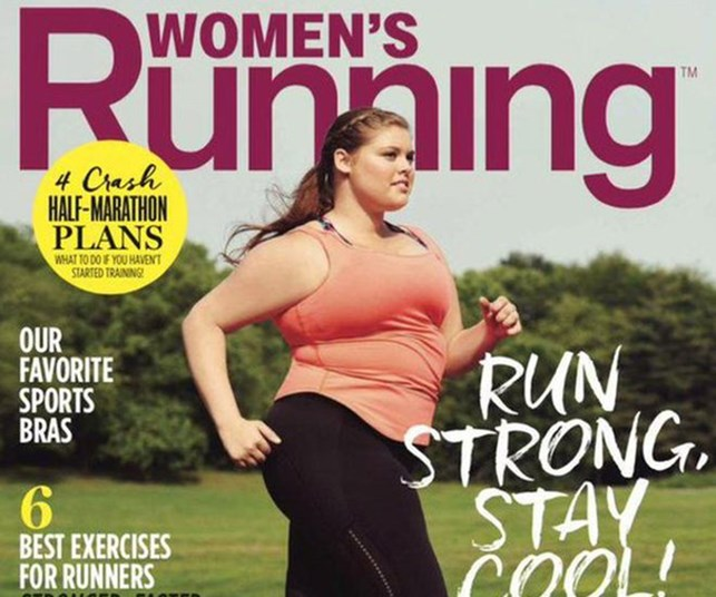 Fat can be fit: Running magazine features curvy model