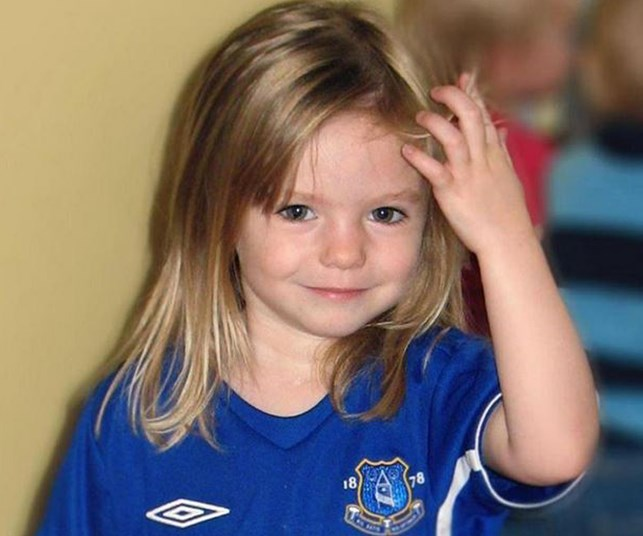 Child in the suitcase 'could be' Madeleine McCann