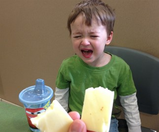"Parents chronicle hilarious reasons ""why my kid is crying"""