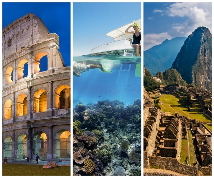 'Ultimate bucket list': Top 10 travel sites in the world