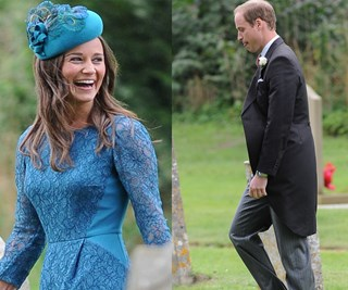 William takes Pippa to wedding instead of Kate