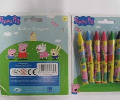Childcare warns parents as asbestos is found in Peppa Pig crayons