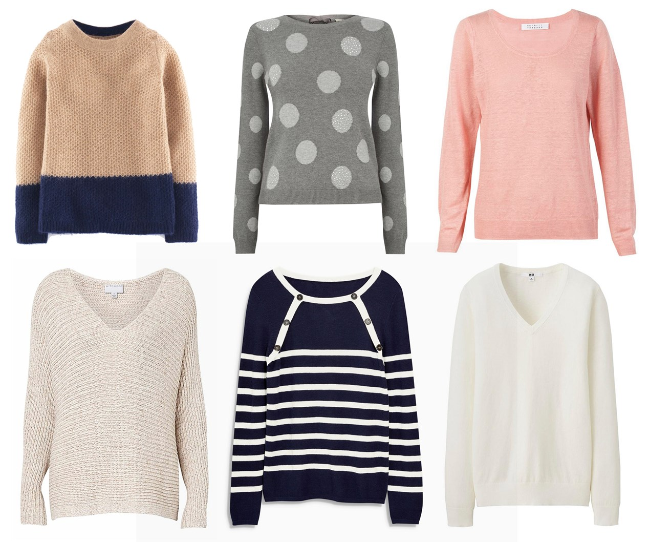 The best light sweaters for Spring