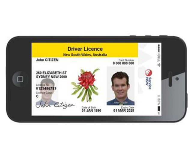 Driver's licences will soon be available on smartphones