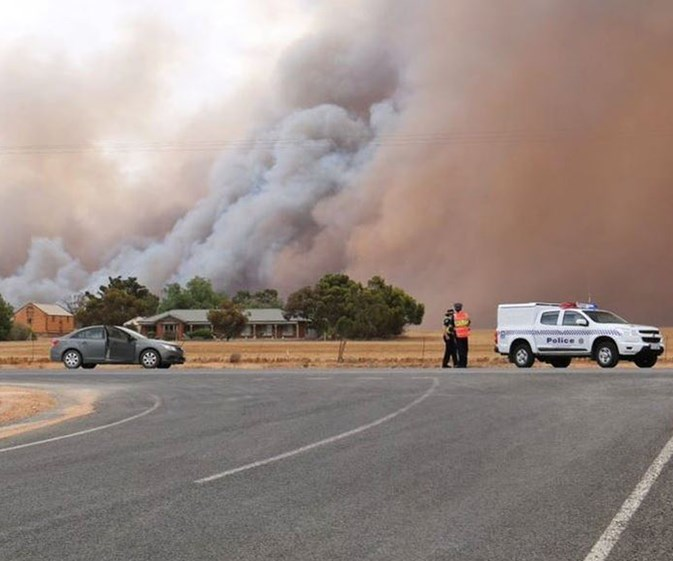 Two killed in South Australian fires