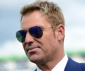 Shane Warne has no idea who Leigh Sales is