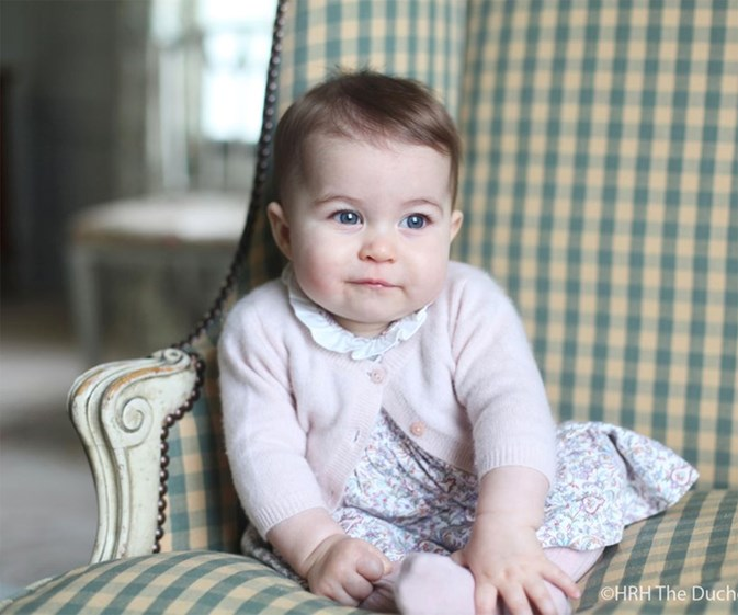 Duchess Catherine releases new photos of Princess Charlotte