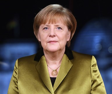Chancellor Angela Merkel named TIME's first female Person of the Year since 1986