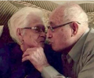 Couple celebrate their 82nd wedding anniversary