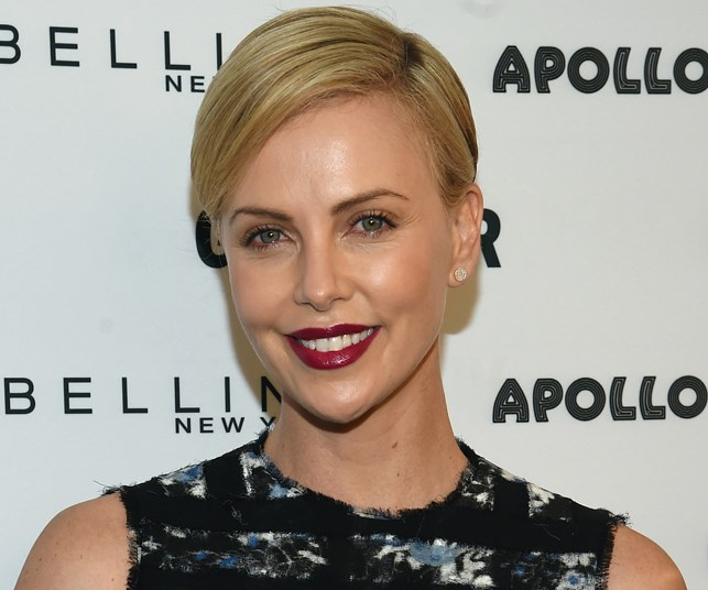 Charlize Theron doesn't look like this anymore!