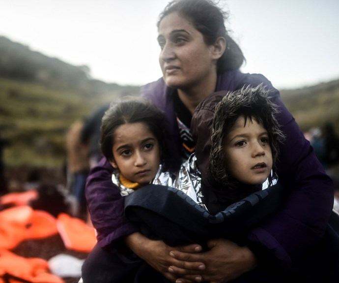 Refugees are just like you and me