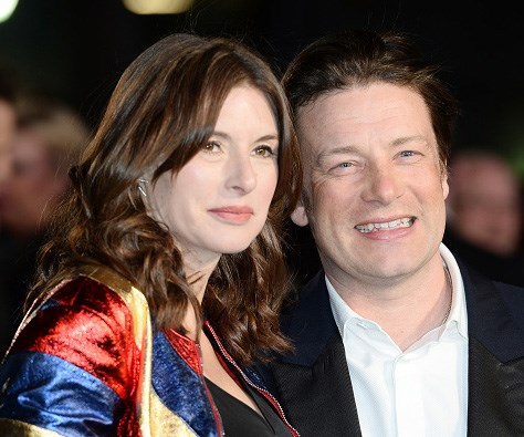Jamie Oliver hints at new baby's name