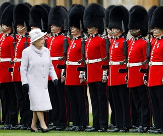Queen's Royal Guards.
