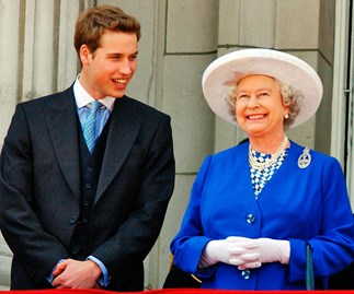 William's touching words for 'boss' Queen