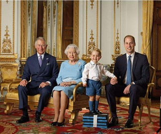 Prince George stars in stamp honouring the Queen's 90th