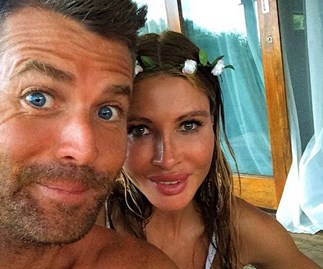 Pete Evans and Nicola Robinson's intimate wedding day