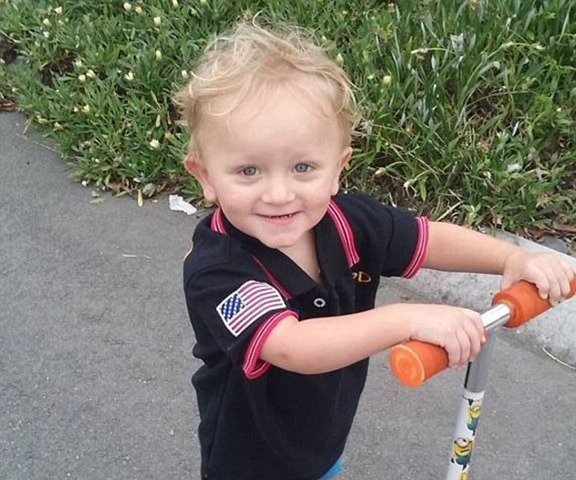 Baby boy fighting for life after receiving 90 per cent burns to body from candles