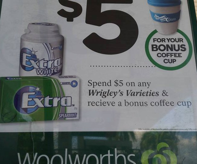 Woolworths caught out in spelling mistake fail