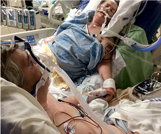 husband and wife on life support say goodbye