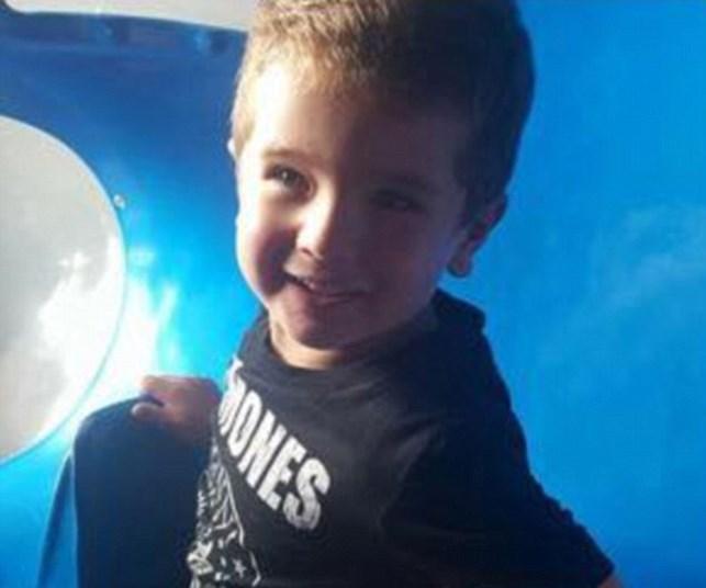 Little boy drowns after car slides into river