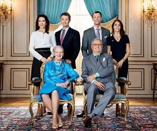 New portrait of Princess Mary and family released