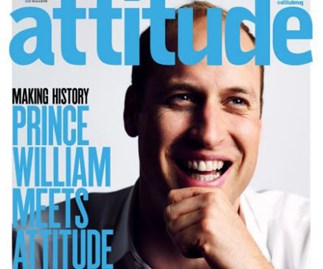 Prince William's gay magazine cover revealed