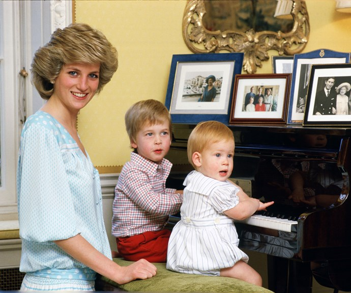 Old video footage of William, Harry and Diana resurfaces
