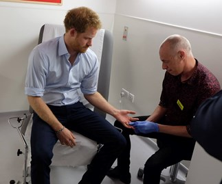Prince Harry tested for HIV