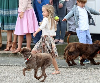 Princess Josephine steals the show in front of Danish royal family