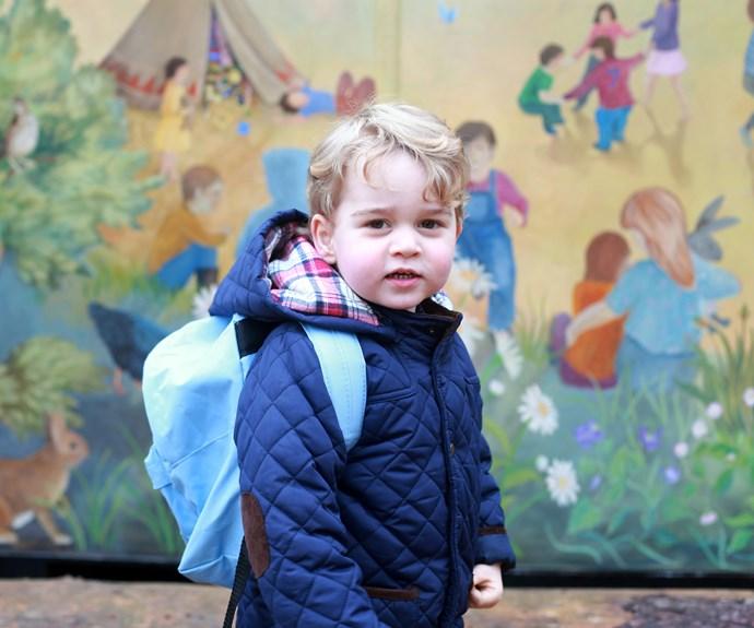 What's on Prince George's birthday list?