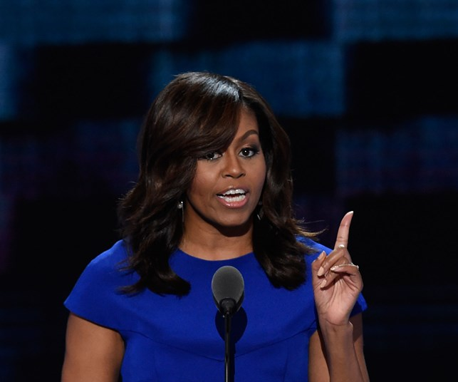 Michelle Obama: 'I wake up every morning in a house that was built by slaves'