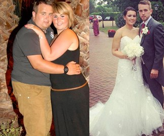 Couples who lost huge amounts of weight together